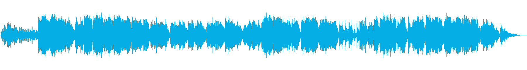 ファンタジックなオルゴール風オーケストラの再生済みの波形