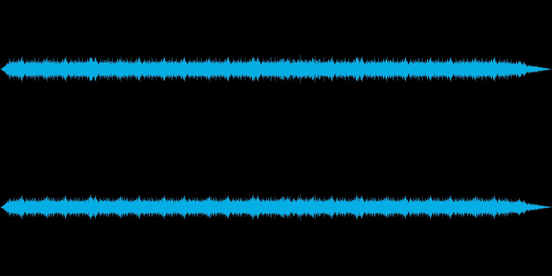 【新幹線 走行音01-2】の再生済みの波形
