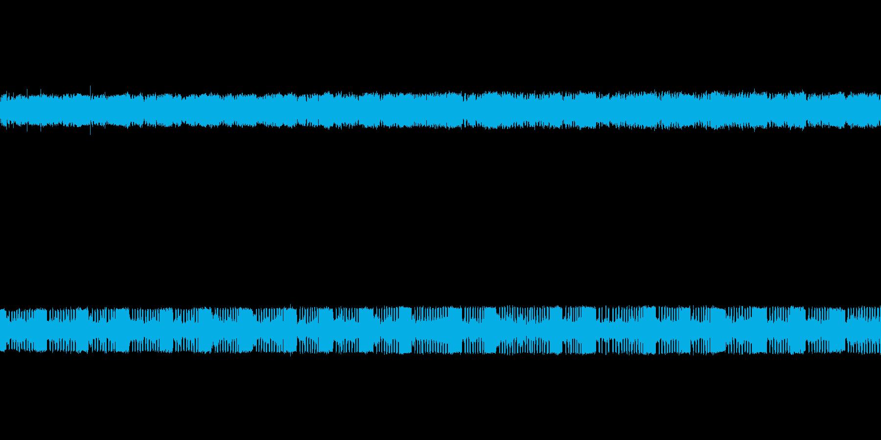 【生音】 夏の鈴虫 の再生済みの波形
