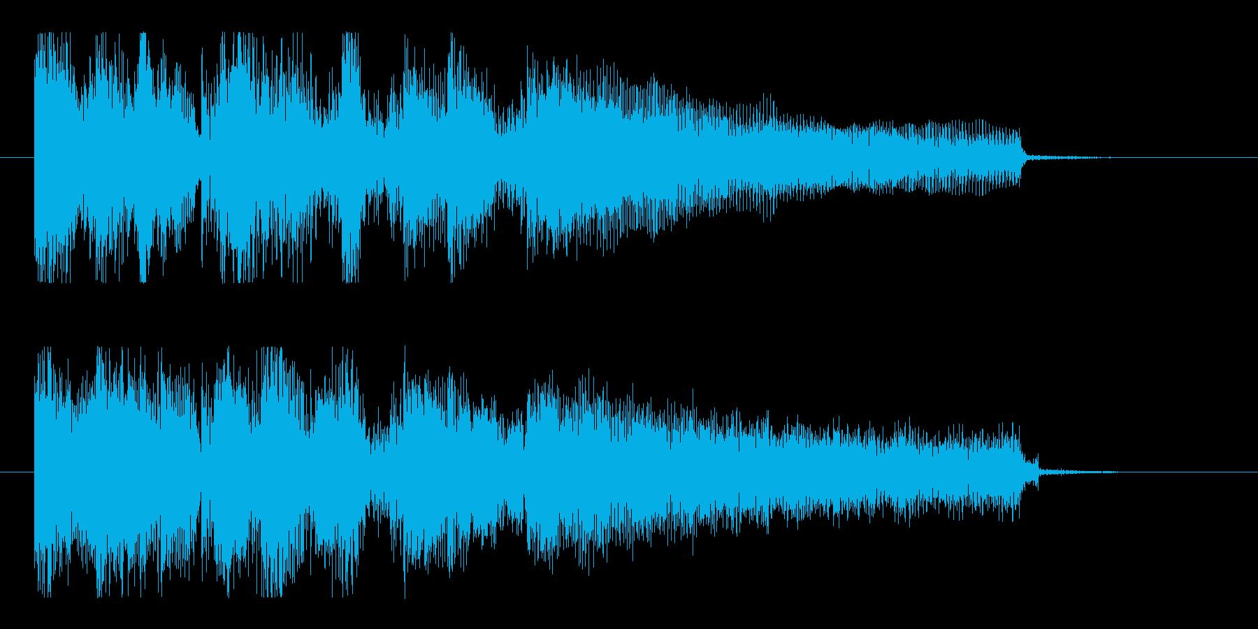 クール、おしゃれ、ジャジーで大人なロゴの再生済みの波形