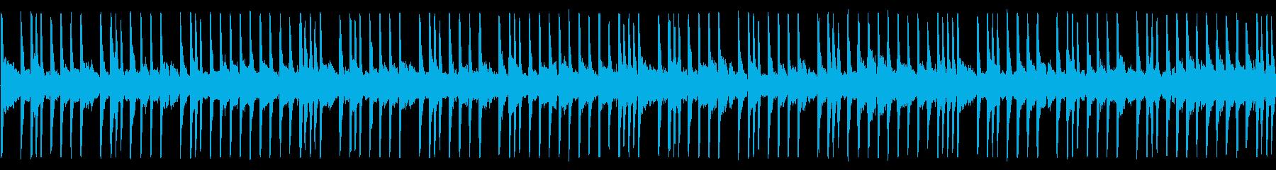 金属系音色・Hip-Hop/Loopの再生済みの波形
