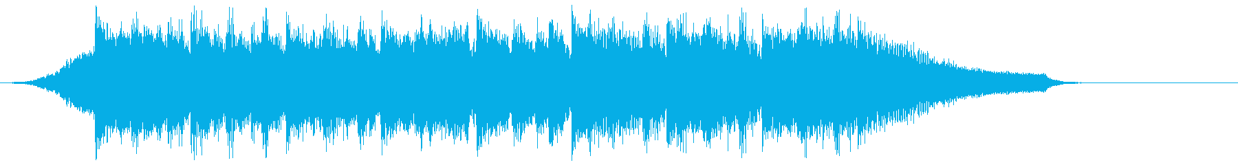 企業VP映像、108オーケストラ、爽快cの再生済みの波形