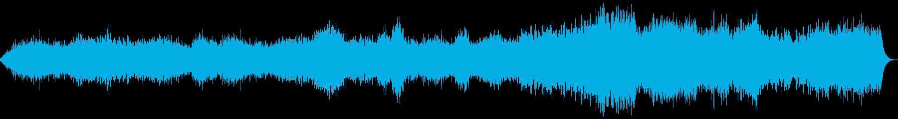 緊張感・サスペンス・ドキドキアンビエントの再生済みの波形
