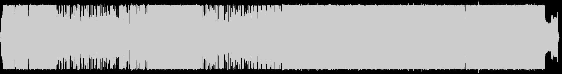 絶望的な状況を打破するガールズロックの未再生の波形