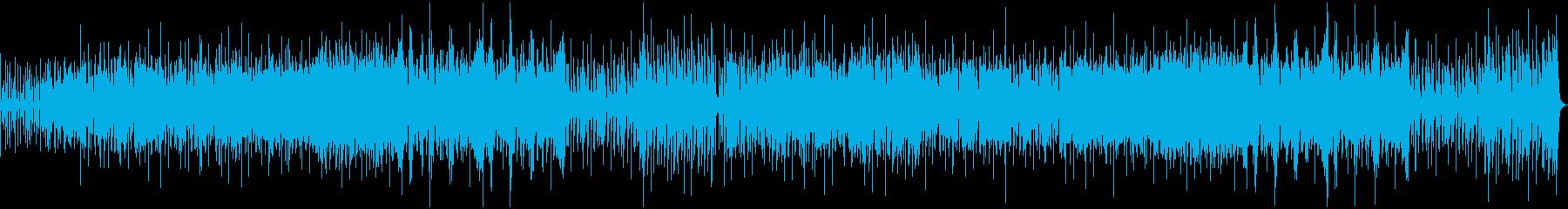 アコーディオン、ピアノ、スペインの...の再生済みの波形