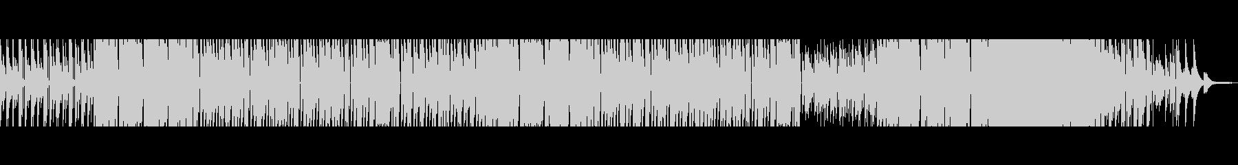 80年代風洋楽ポップロックインストの未再生の波形