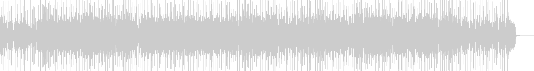 アニメソング風の明るいポップロックの未再生の波形