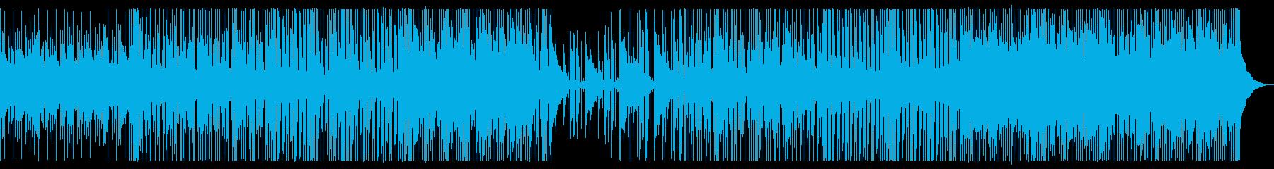 爽やかなカフェBGM_No686_1の再生済みの波形