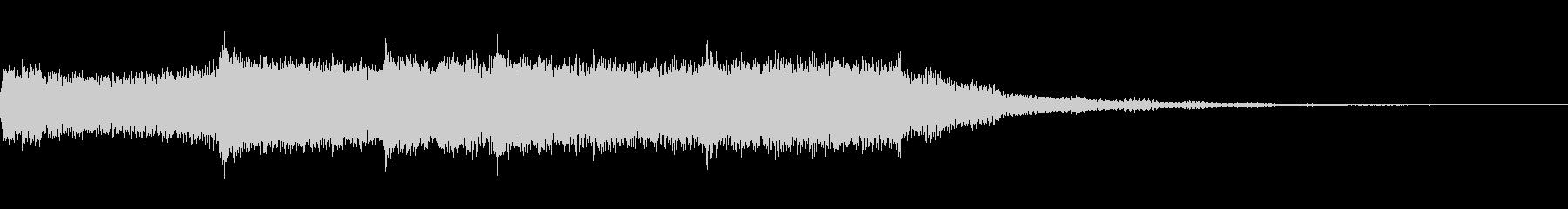 ファンファーレとのグリップ不吉なコードの未再生の波形