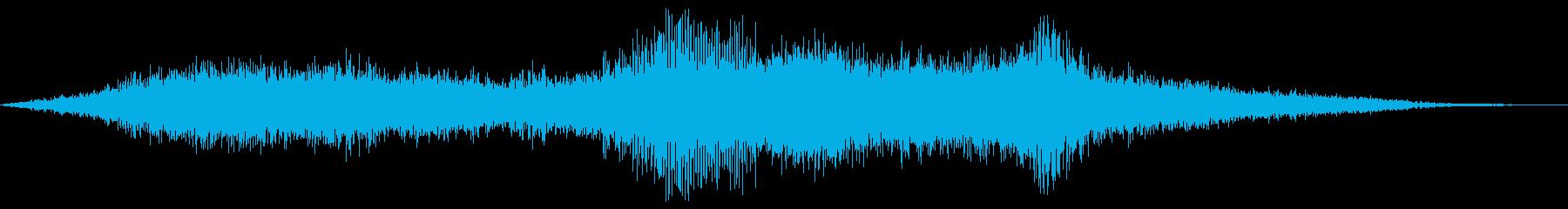 ゴーカートレーシングの再生済みの波形