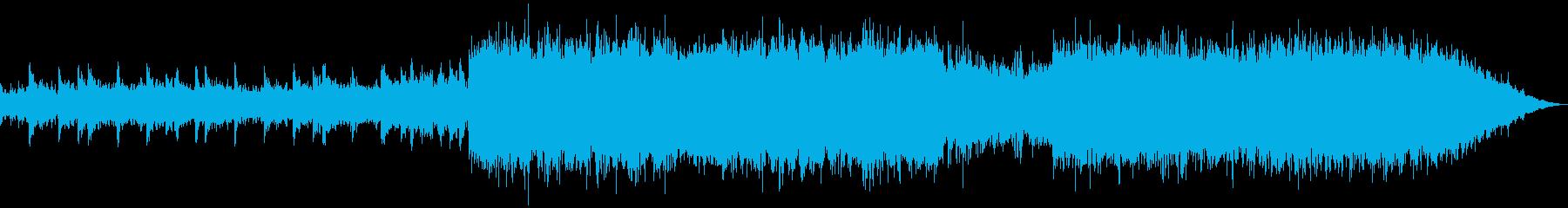 感傷に浸りたいときの切ないBGMの再生済みの波形