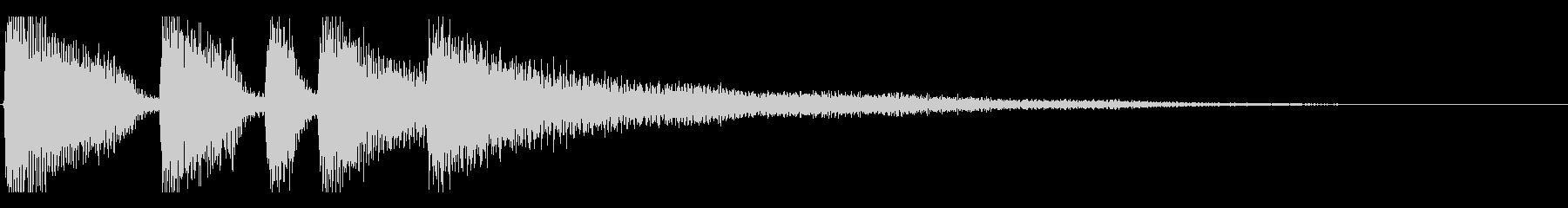 【日曜のラジオ3】の未再生の波形