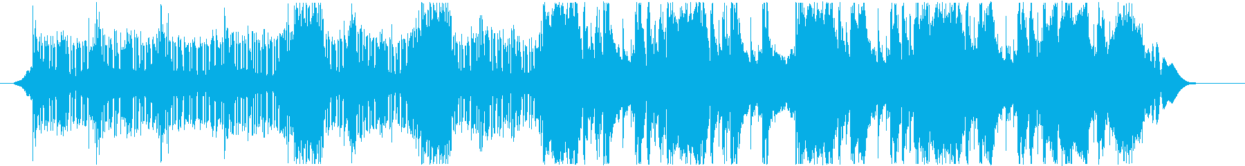 ハリウッド風トレイラー リズム主体07の再生済みの波形
