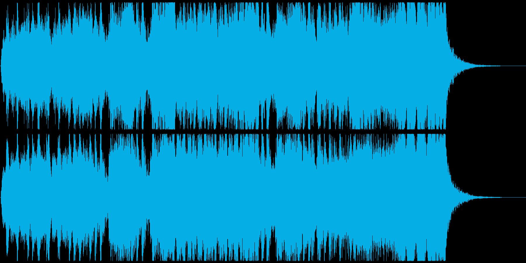 【オーケストラ】明るい・幸せ・前向きの再生済みの波形