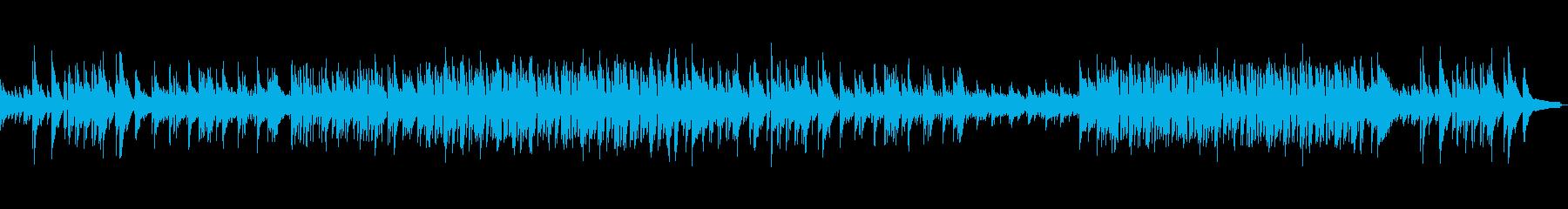 情緒溢れる癒しのピアノ・ギターポップスの再生済みの波形