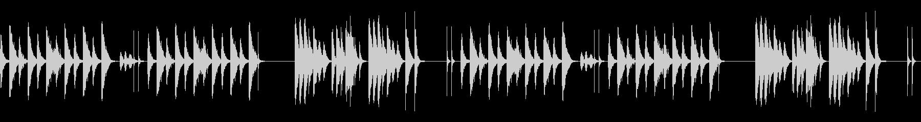 劇伴 シンプル 日常 間抜けBの未再生の波形