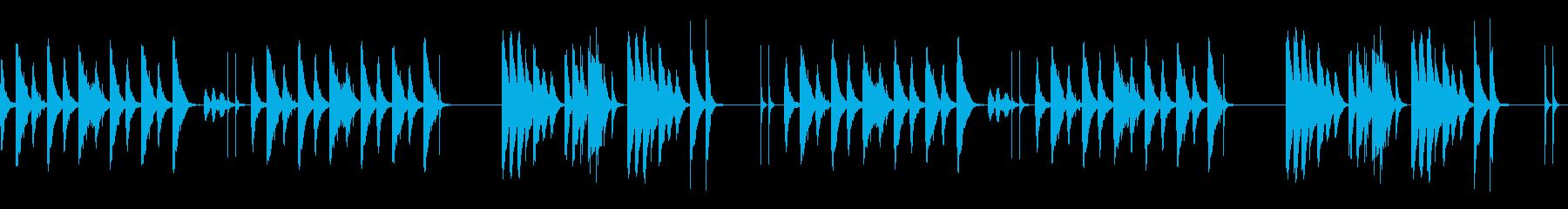 劇伴 シンプル 日常 間抜けBの再生済みの波形