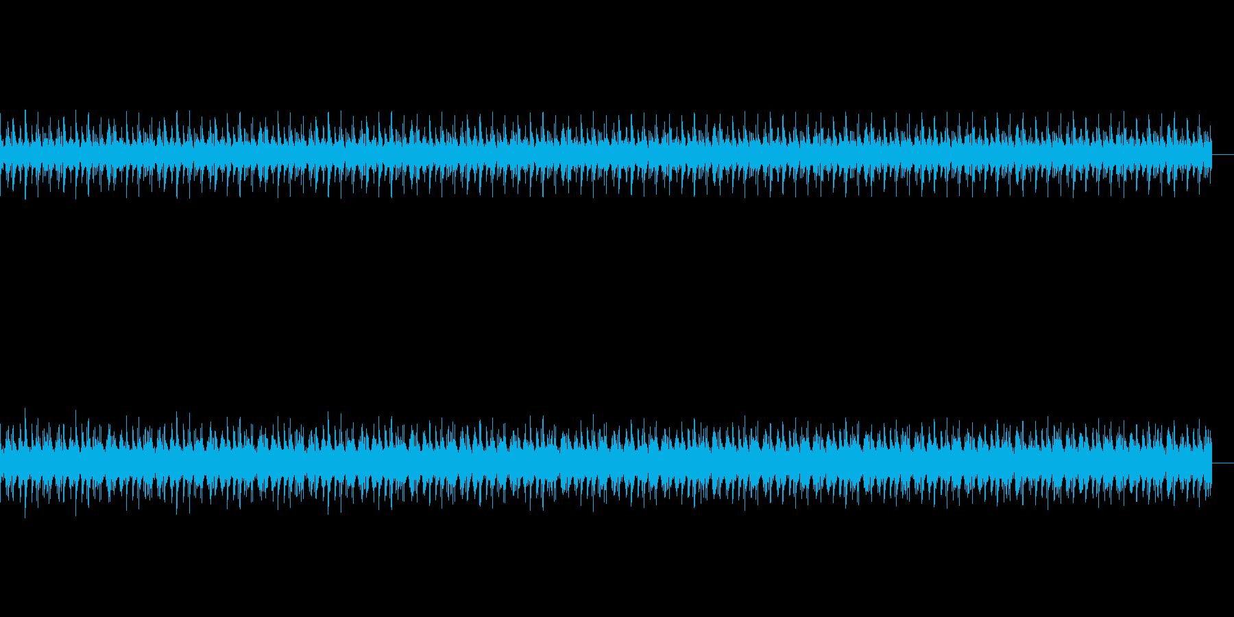 ピアノとリズムに癒されるヒーリングBGMの再生済みの波形