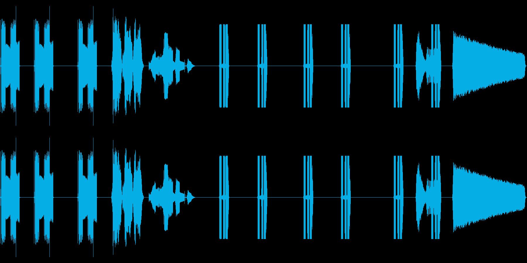 コンピューターテレメトリー:関数シ...の再生済みの波形