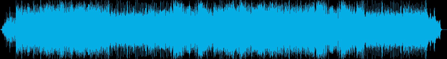ドラマチックなシンセサイザー和風ポップスの再生済みの波形