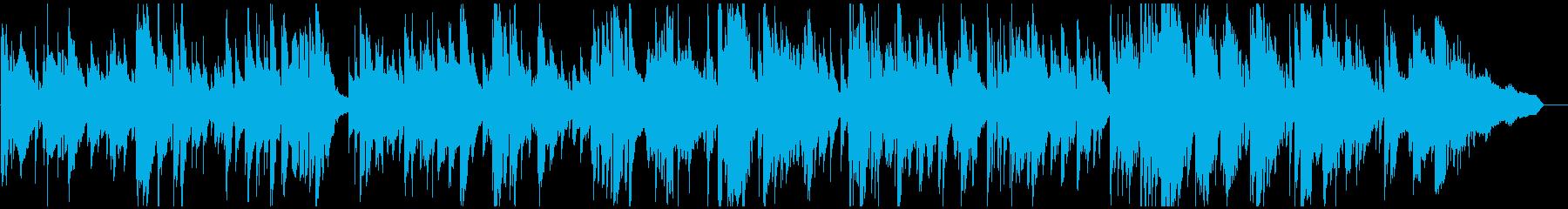 ソフトでスウィートな音色のスロージャズの再生済みの波形