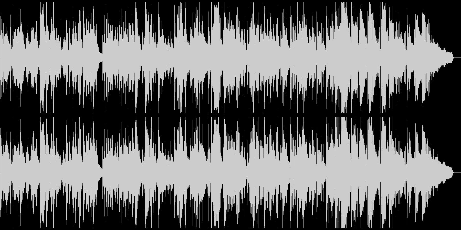ソフトでスウィートな音色のスロージャズの未再生の波形