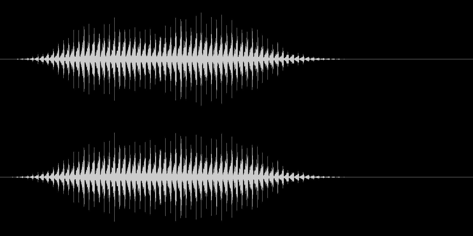 虫の羽音(ブーン/モンスター/飛ぶ)_2の未再生の波形