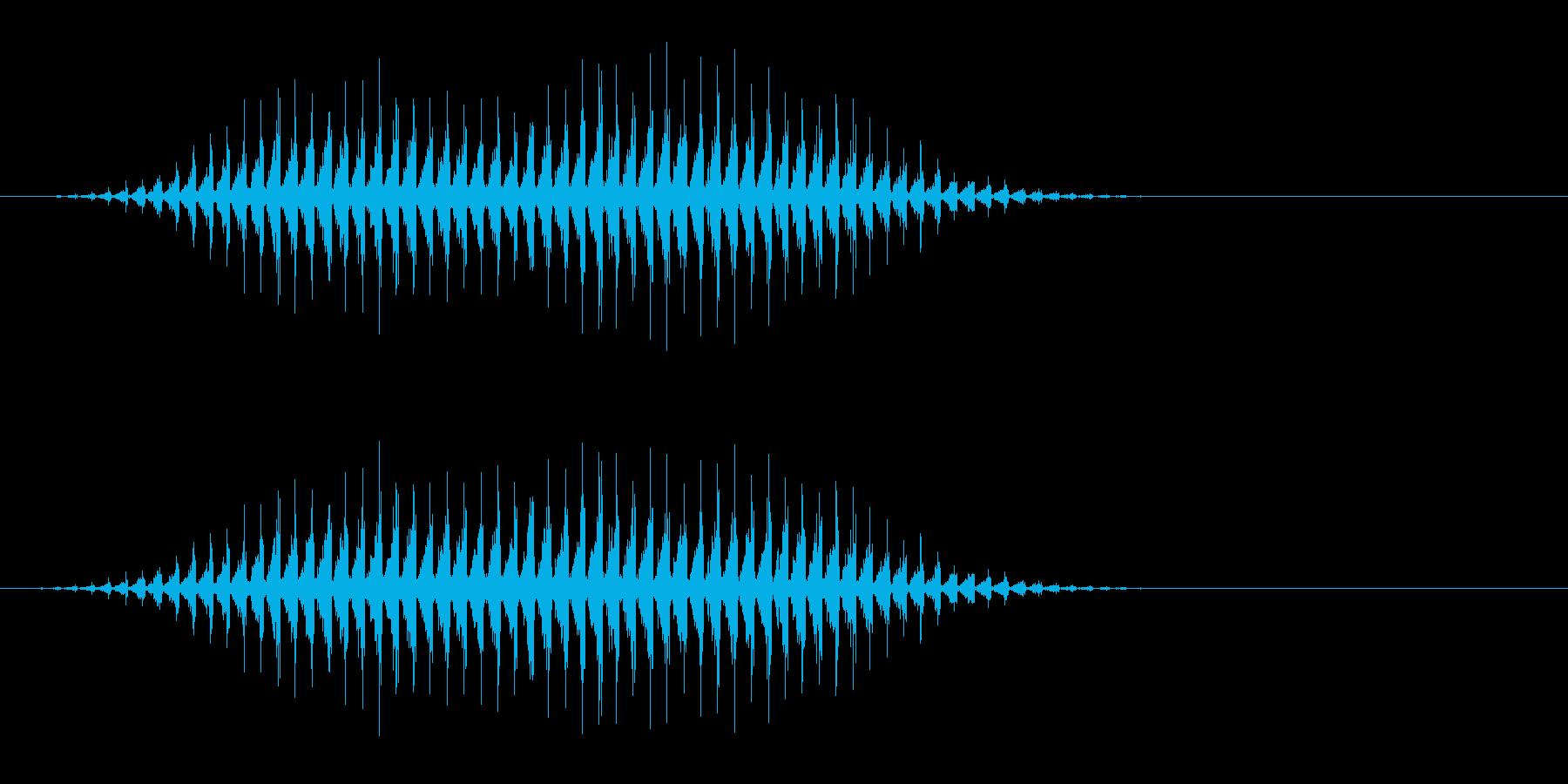 虫の羽音(ブーン/モンスター/飛ぶ)_2の再生済みの波形
