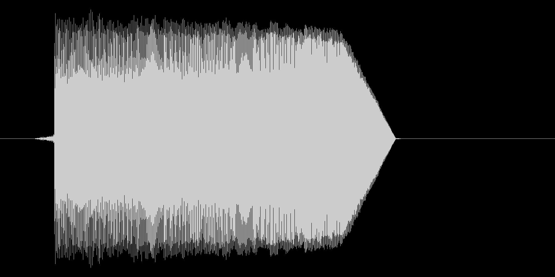 ゲーム(ファミコン風)ジャンプ音_050の未再生の波形