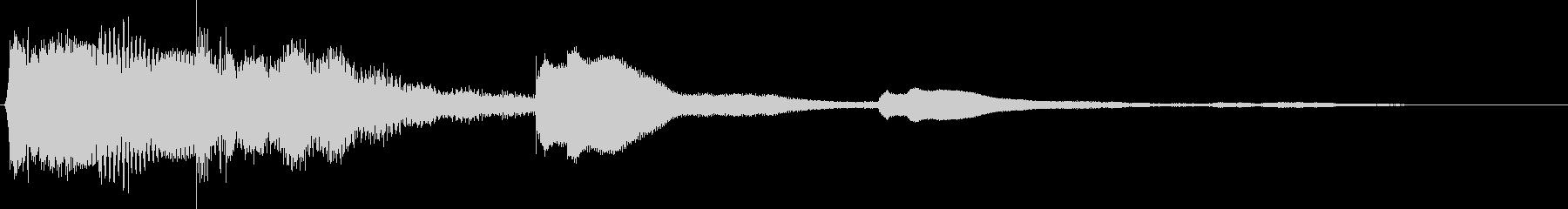チロン(涼しい鈴の音)の未再生の波形