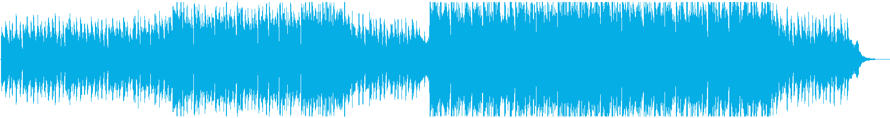 未来的&エレガントなエレクトロサウンドの再生済みの波形
