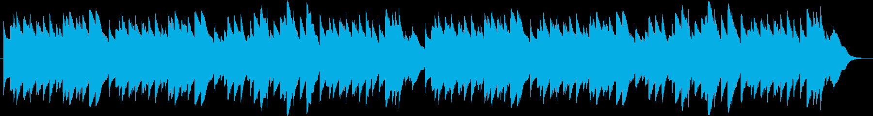 「ひいらぎ飾ろう」のオルゴールバージョンの再生済みの波形