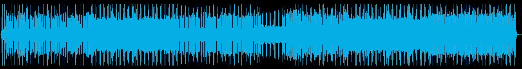 ポップで軽快なエレクトロの再生済みの波形