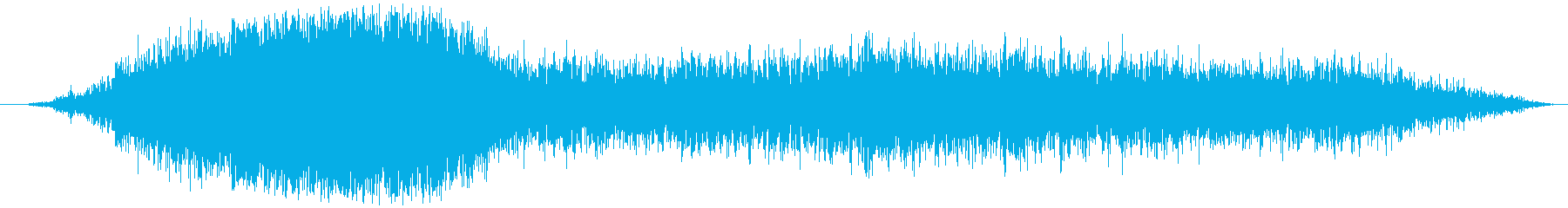 空気を入れる(抜く等)シュゥーの再生済みの波形