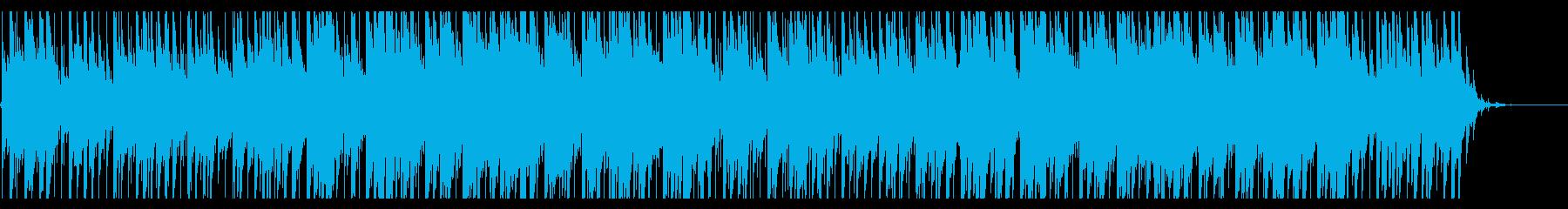 60sな雰囲気のサーフミュージックの再生済みの波形