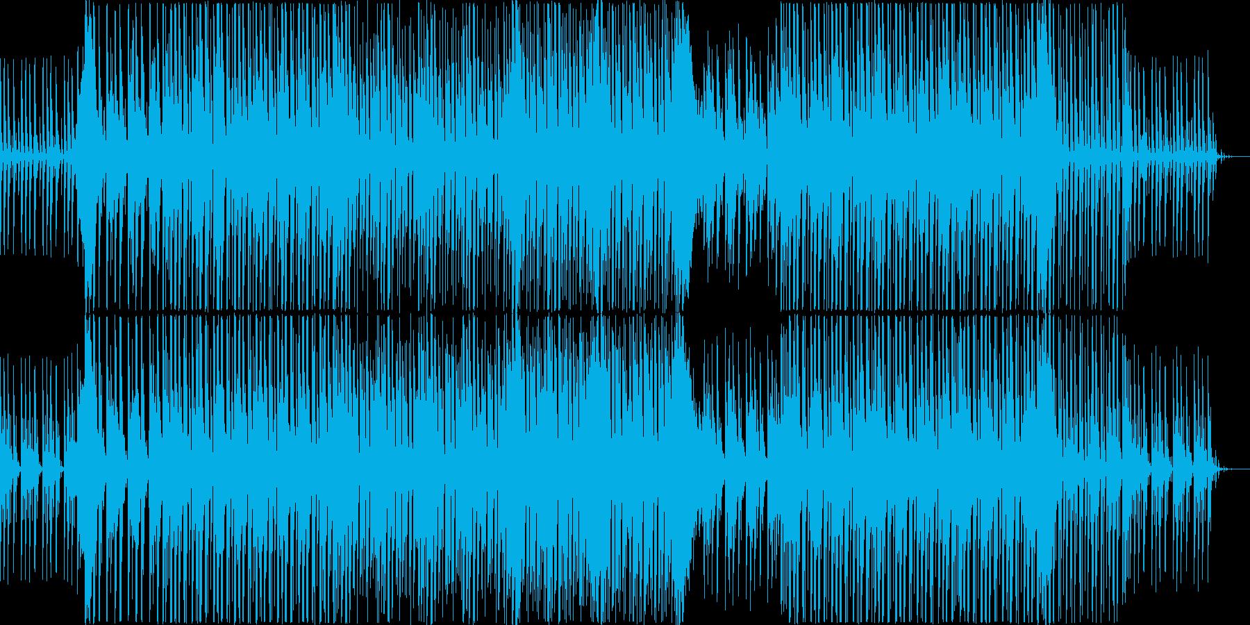 ドラマチックなシンセポップの再生済みの波形