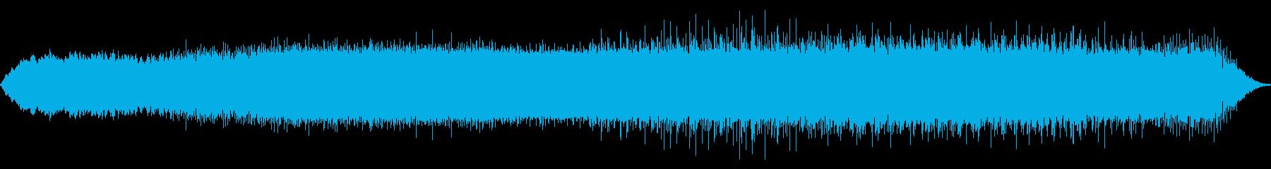 宇宙的ミニマルテクノの再生済みの波形