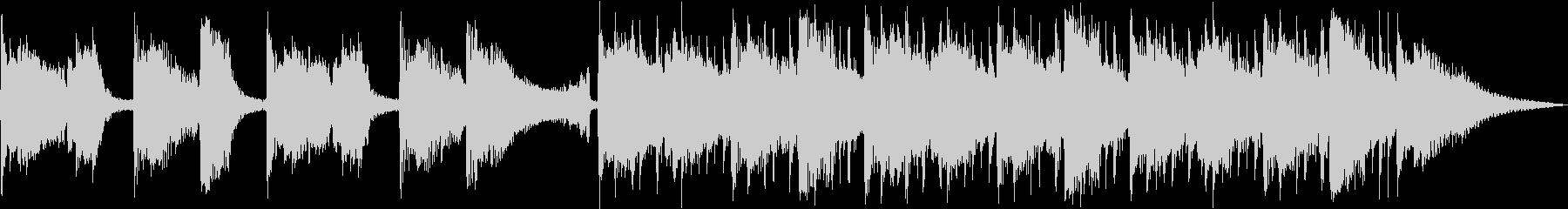 クールなアコギ30秒動画の未再生の波形