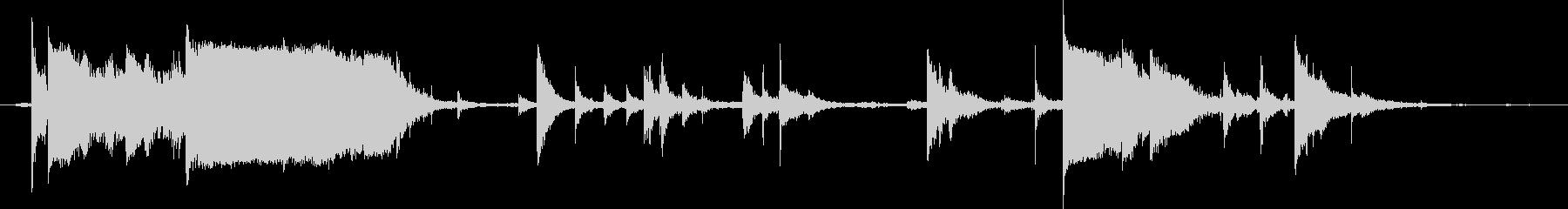 鎖・チェーンの効果音 03の未再生の波形