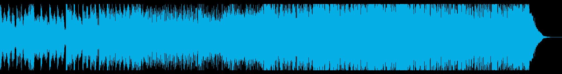 デジタルで緊迫感のあるアンビエントIDMの再生済みの波形