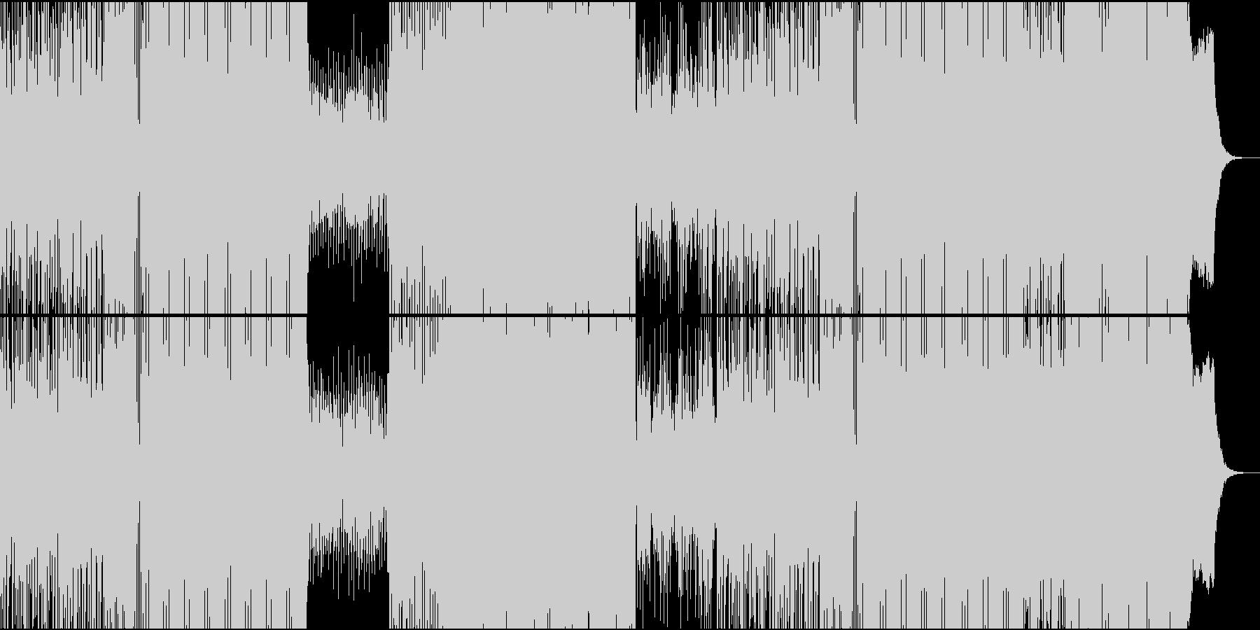切ないギターが飾るスパニッシュEDMの未再生の波形