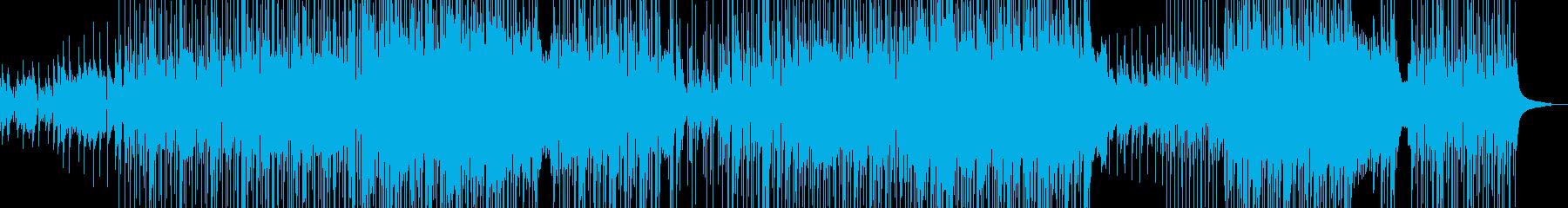 爽やかギター・聞き流せるポップ 長尺+★の再生済みの波形