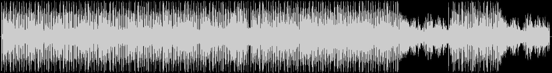 かわいくておしゃれなエレクトロ調ボーカルの未再生の波形
