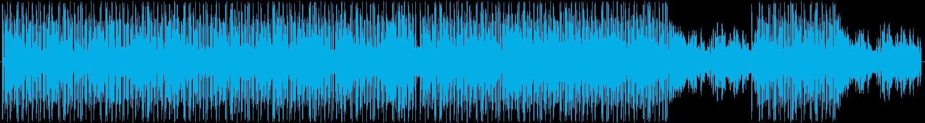 かわいくておしゃれなエレクトロ調ボーカルの再生済みの波形