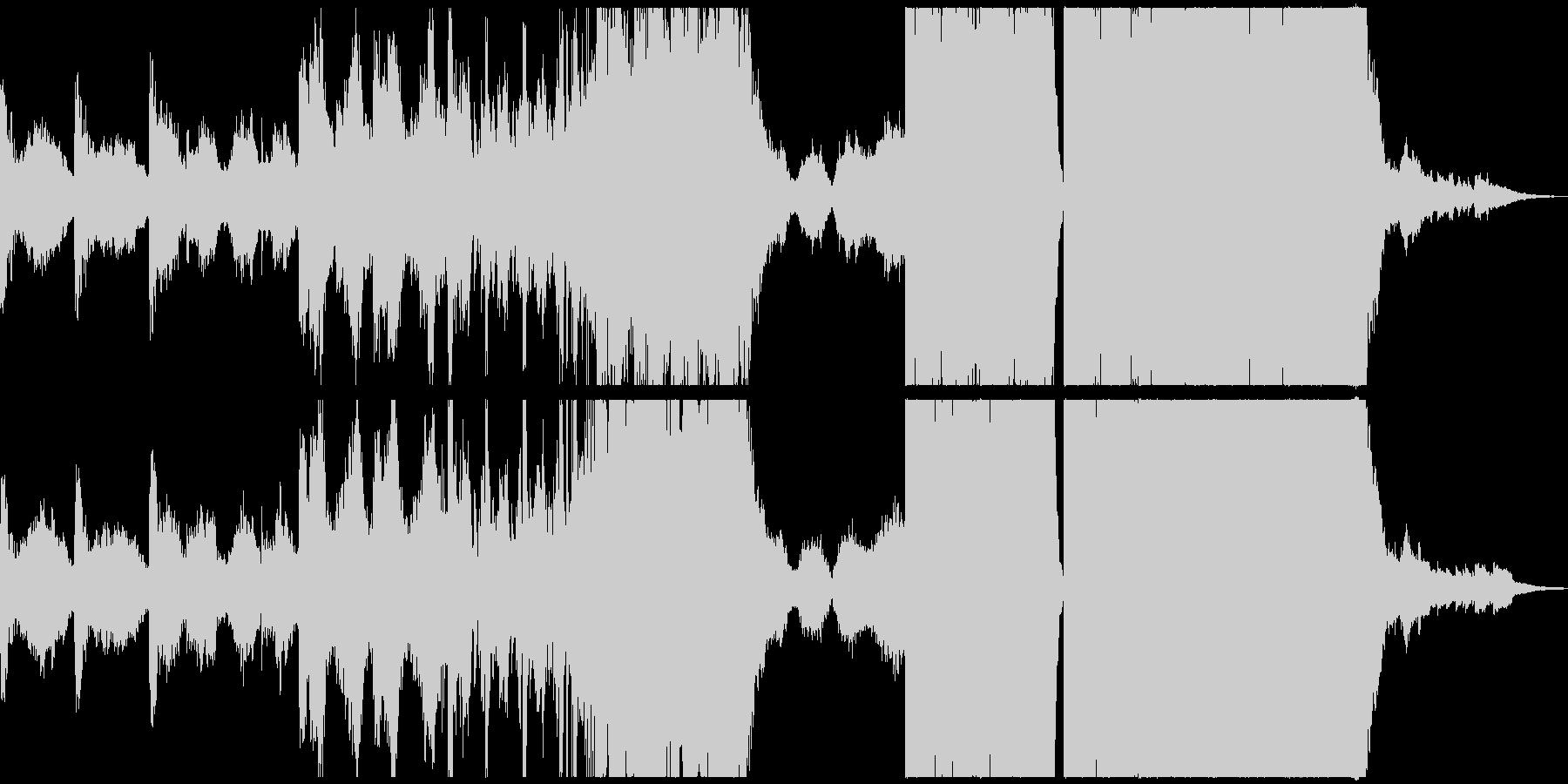 前衛交響曲 広い 壮大 ファンタジ...の未再生の波形