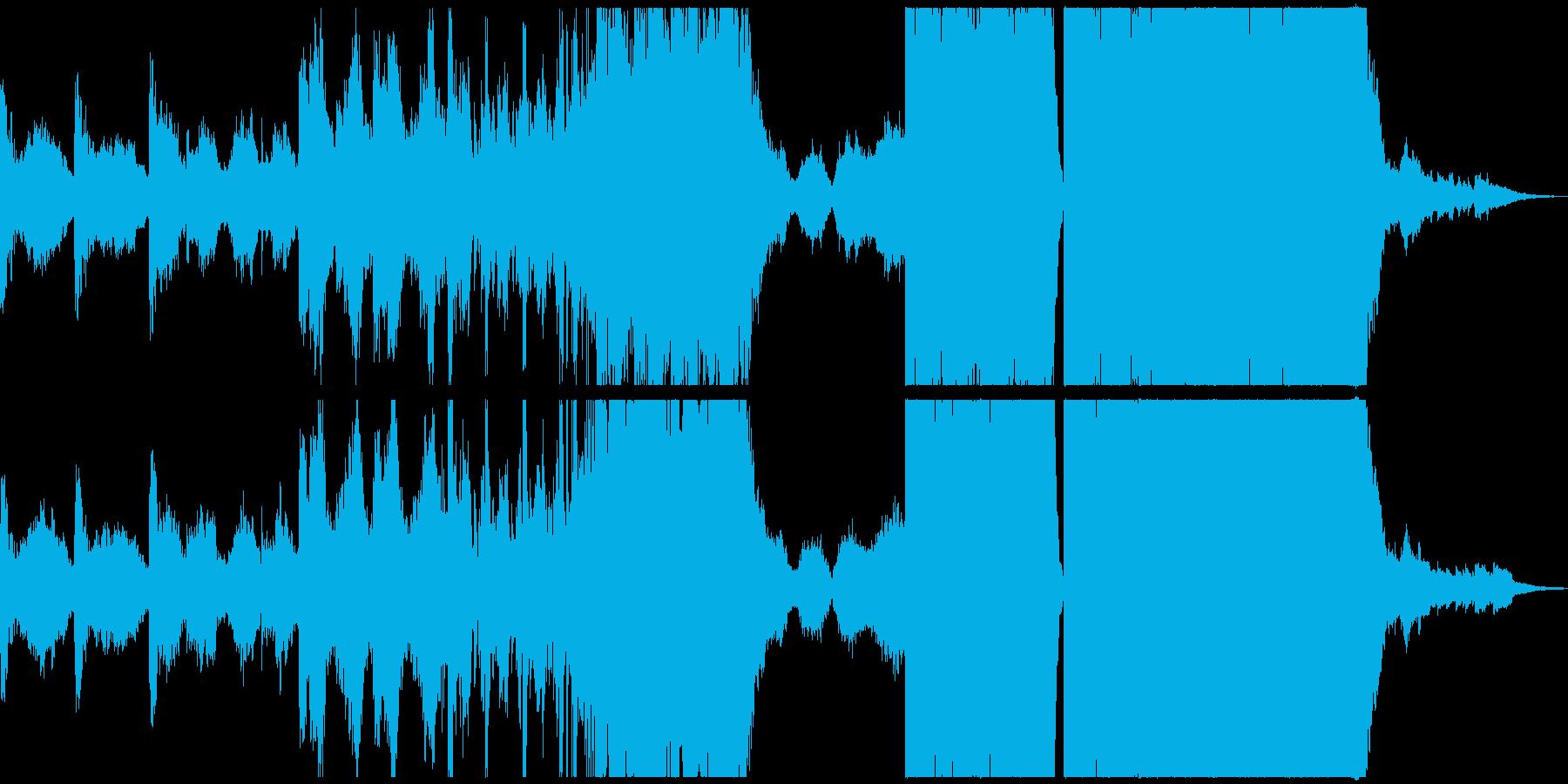 前衛交響曲 広い 壮大 ファンタジ...の再生済みの波形