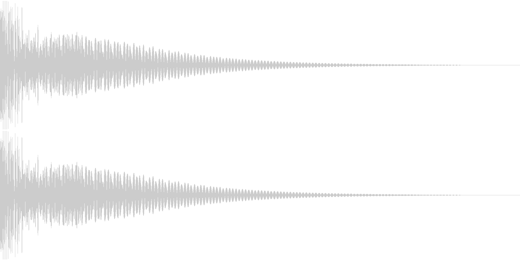 DTM Tom 31 オリジナル音源の未再生の波形