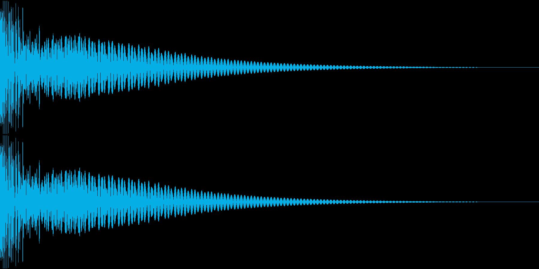 DTM Tom 31 オリジナル音源の再生済みの波形