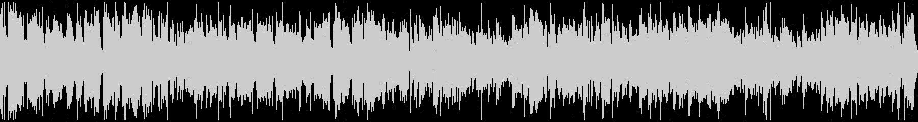 カジノ系ジャズ、明るいブルース※ループ版の未再生の波形