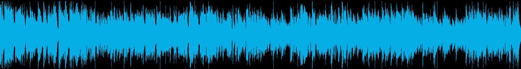 カジノ系ジャズ、明るいブルース※ループ版の再生済みの波形